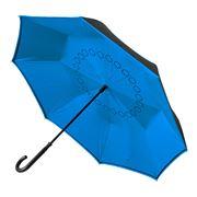 Clifton - Outside-in Auto Close Electric Blue Umbrella