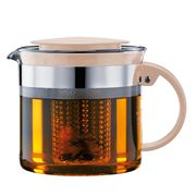 Bodum - Bistro Nouveau Teapot Pale Pebble 1L