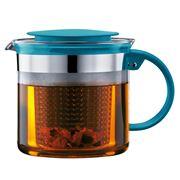 Bodum - Bistro Nouveau Teapot Petrol 1.5L
