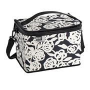 Built NY - Icetec Freezable Cube Lunch Bag Blk & White Rose