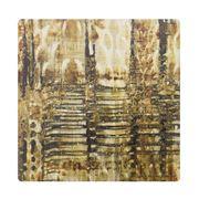 Thirstystone - Snake Skin Coaster Gold