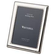 Whitehill - Sterling Silver Egg & Bead Frame 13x18cm