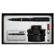 Lamy - Safari All Black Fountain Pen Gift Pack