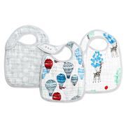 Aden and Anais - Dream Ride Snap Bib Set 3pce