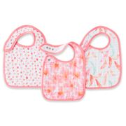 Aden and Anais - Petal Blooms Pop Snap Bib Set 3pce