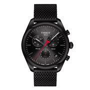 Tissot - PR100 Black Dial & Strap Chronograph