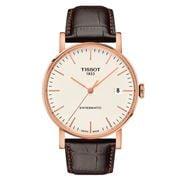 Tissot - Everytime Swissmatic R/Gold & Leather Watch 40mm
