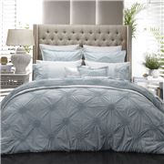 Private Collection - Tamsin Seafoam Quilt Cover Set Queen