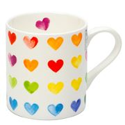 Konitz - Colorful Cast Hearts Mug