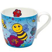 Konitz - Happy Bees Blue Mug