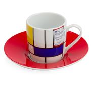 Konitz - Hommage Large Fragments Espresso Cup & Saucer