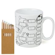 Konitz - Fill in Football Chart Self Made Mug