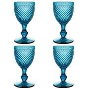Vista Alegre - Bicos Azul Water Goblet Set 4pce