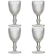 Vista Alegre - Bicos Incolor Red Wine Goblet Set 4pce