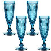Vista Alegre - Bicos Azul Flute Set 4pce