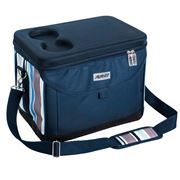 Avanti - Insulated Picnic Cooler Bag Blue Stripe 20L