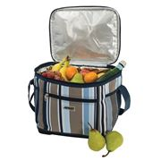 Avanti - 24 Can Insulated Cooler Bag Blue Stripe