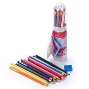 Faber-Castell - Rocket Tin 20pce Pencil & Sharpener Set