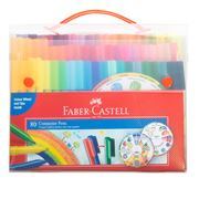 Faber-Castell - Connector Pens W/ Case & Colour Wheel 80pce