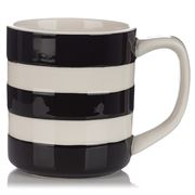 Cornishware - Black Mug 280ml