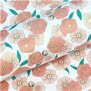 Vandoros - Chloe Apricot Wrapping Paper 76cm x2.5m
