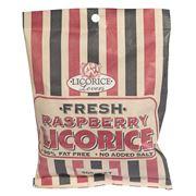 Licorice Lovers - Fresh Raspberry Licorice 300g