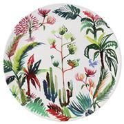 Gien - Jardins Extraordinaires Cake Platter
