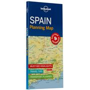 Lonely Planet - Spain Planning Map