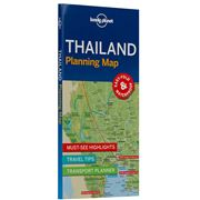 Lonely Planet - Thailand Planning Map