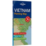 Lonely Planet - Vietnam Planning Map