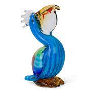 Zibo - Pelican with Fish Ornament