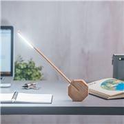 Gingko - Octagon One Desk Lamp Maple
