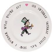 Mrs Moore - Alice In Wonderland Mad Hatter Tea Plate