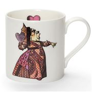 Mrs Moore - Alice In Wonderland Red Queen Mug