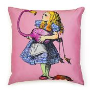 Mrs Moore - Alice In Wonderland Alice Cushion
