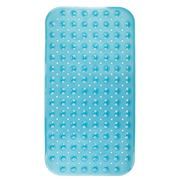 InterDesign - Rectangular Non-Slip Bath Mat Blue
