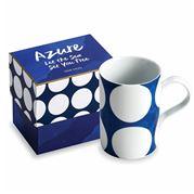 Rosanna - Azure White Spotted Mug