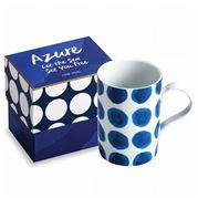 Rosanna - Azure Blue Dot Mug