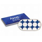 Rosanna - Azure White Spotted Tray 30cm