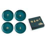 Rosanna - Paradise Green Appetiser Plate Set 15cm 4pce