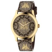 Gucci - Timeless Beige & Gold Bee Watch 38mm
