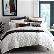 Private Collection - Chiswick Quilt Cover Set White Queen