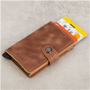 Secrid - Cognac Rust Vintage Mini Wallet