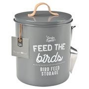 Burgon & Ball - Sophie Conran Bird Food Tin Charcoal