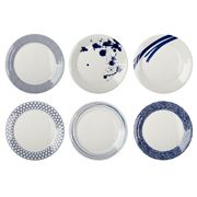 Royal Doulton - Pacific Plate Set 28.5cm 6pce