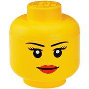 Lego - Iconic Storage Head Large Girl