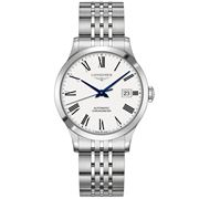 Longines - Record White Dial S/Steel Chronometer 38.5mm