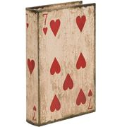 Fancy - Seven Of Hearts Playing Card Box  27x17x5cm