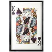 Fancy - King of Spades Paper Collage Frame 60x90cm