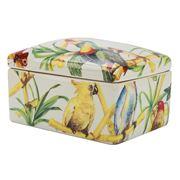 Fancy - White Tropical Porcelain Box